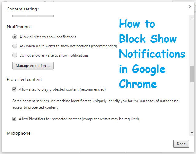 How+to+Block+Show+Notifications+in+Google+Chrome