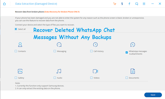 How to Recover Deleted WhatsApp Chat Messages Without Any Backup
