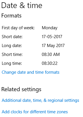 Add & Show Multiple Clocks For Different Time Zone on Windows 10