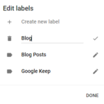 How to Organize Tasks in Google Keep using Labels