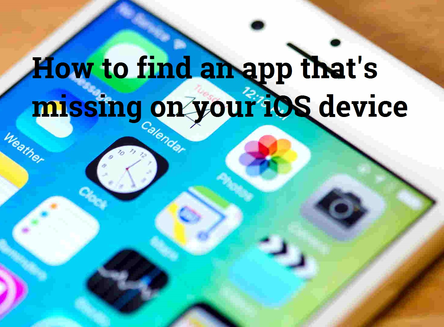 Find Any Installed Missing iOS App