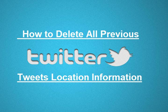 Delete-locaiton-information