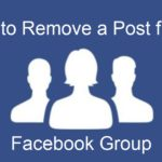 Remove Post from Facebook Group