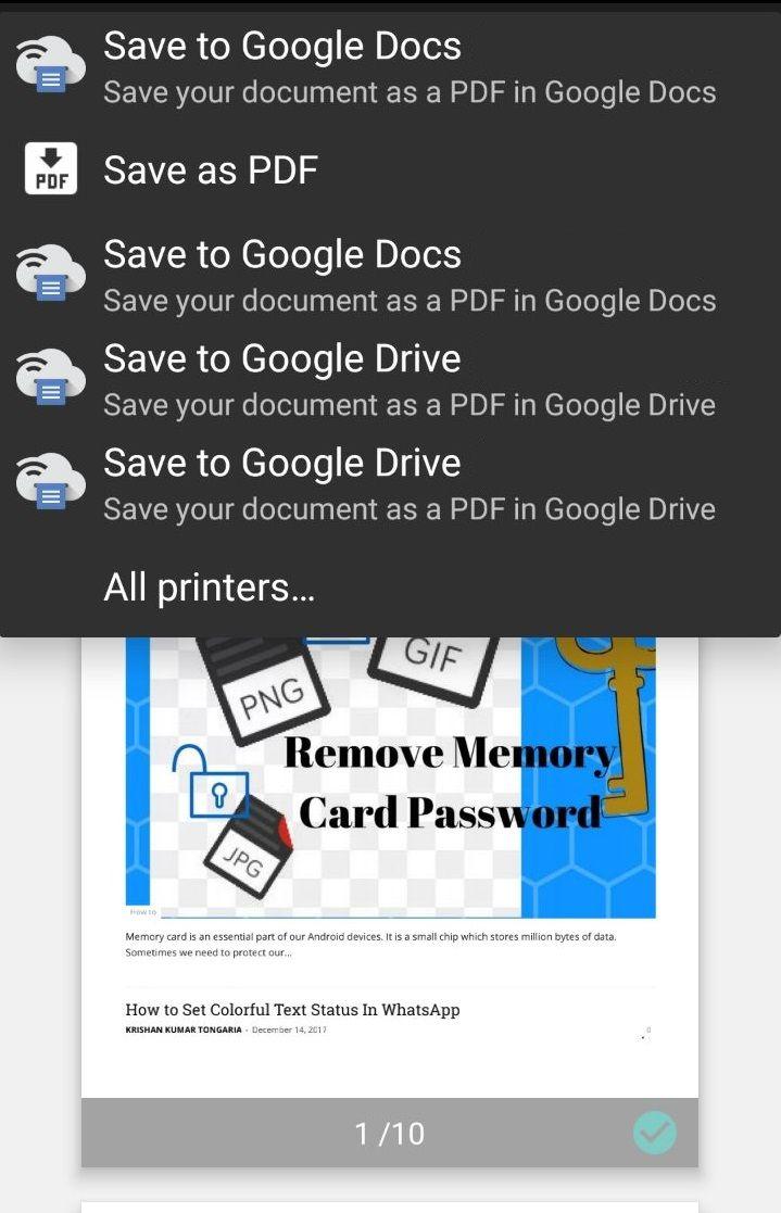 Cloud Print by Google Inc