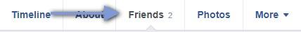 Hide Fiends List in Facebook