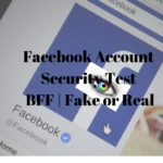 Facebook Account Security Test BFF
