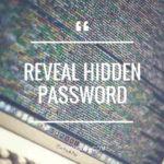 Reveal Hidden Password