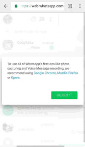 Access WhatsApp remotely
