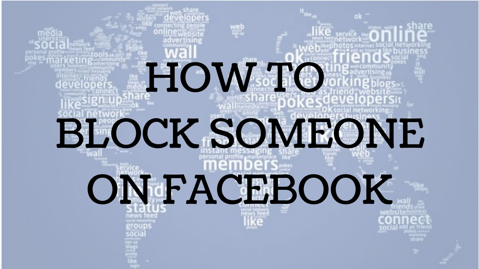 How to Block Someone on Facebook | CODYBABA