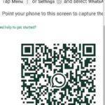 QR code WhatsApp Web Scan to access WhatsApp