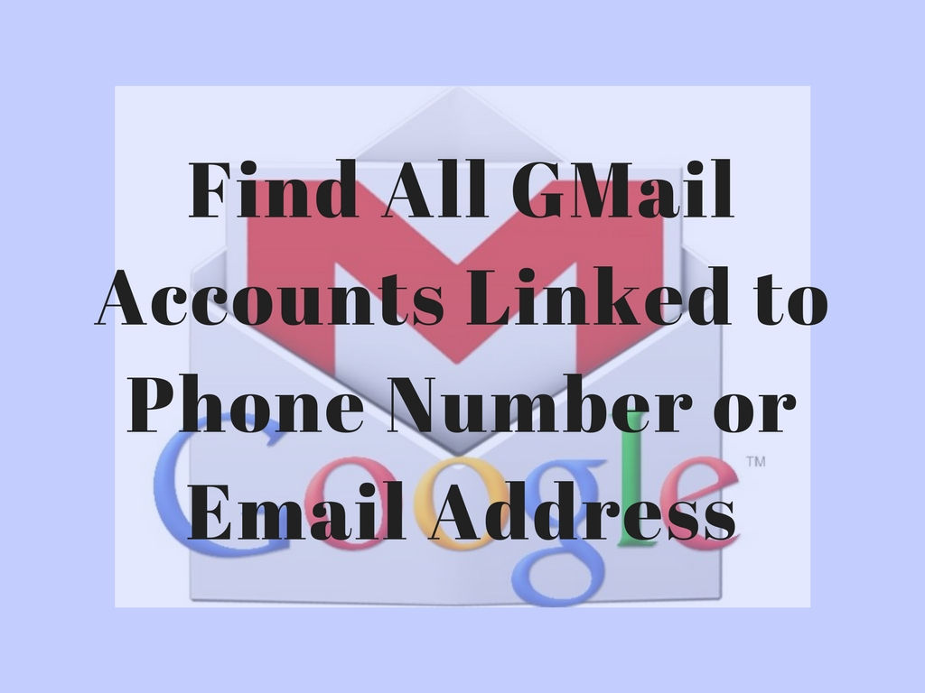 Find Gmail account
