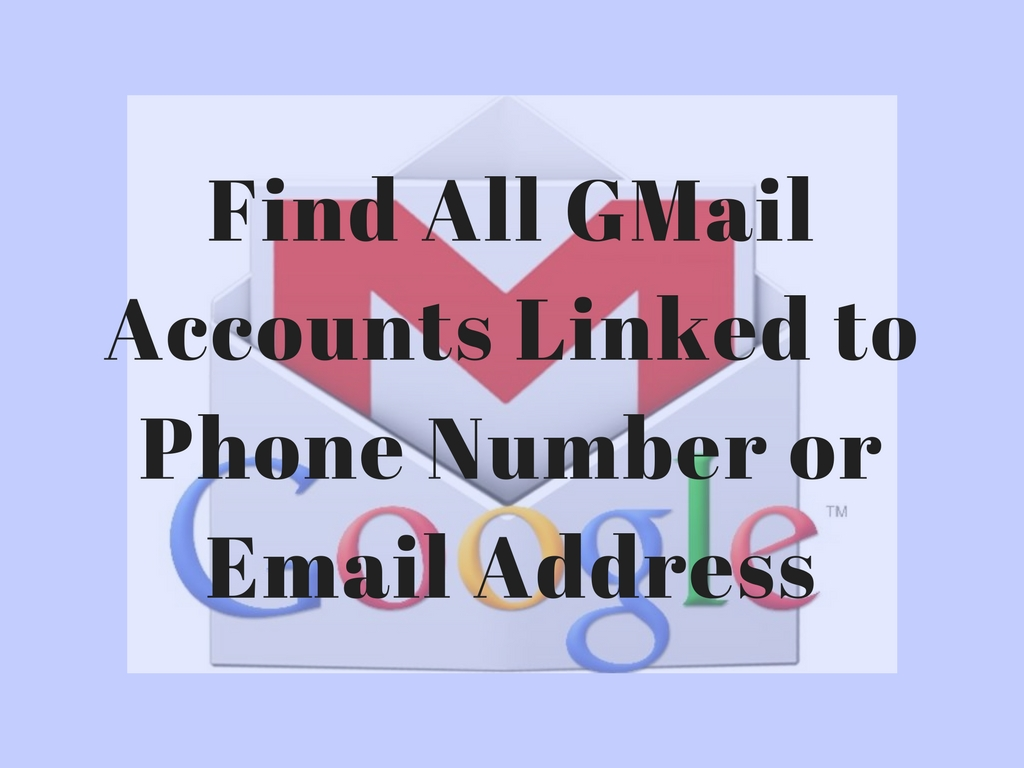 RECOVER LOST GOOGLE ACCOUNT