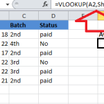 How To Use VLOOKUP in Excel 6