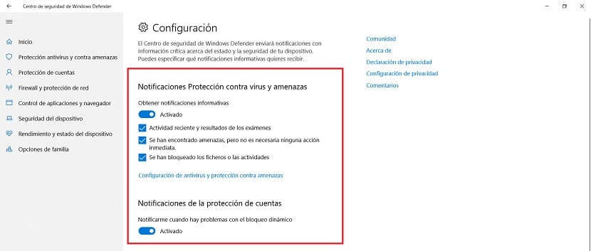 How to disable Windows Defender notifications in Windows 10